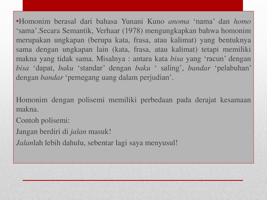 Struktur Bahasa Indonesia Semantik Ppt Download
