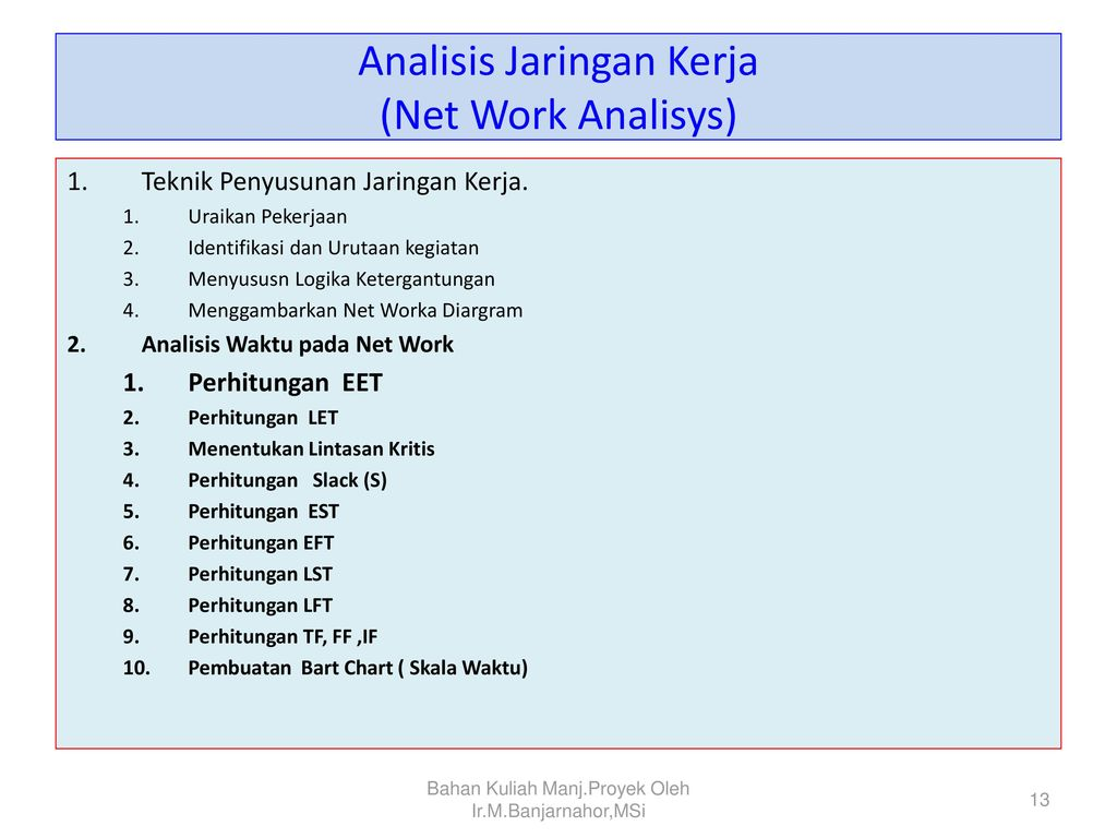 Manajemen proyek project management ppt download 13 analisis ccuart Gallery
