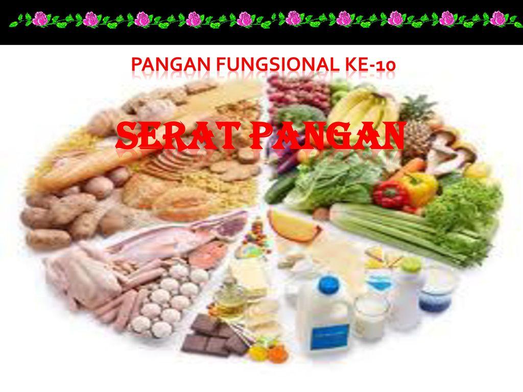 Pangan Fungsional Ke 10 Serat Pangan Ppt Download