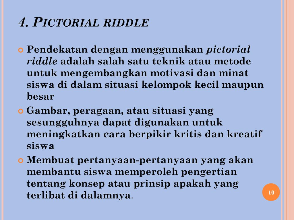 4. Pictorial riddle