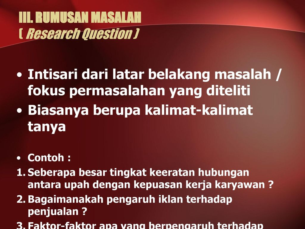 contoh research question