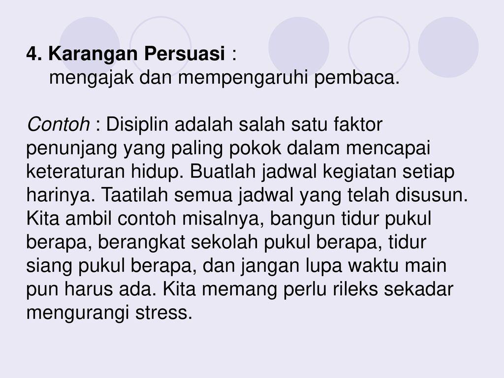Karangan Ilmiah Penyusunan Karya Ilmiah Ada 5 Tahap Ppt Download
