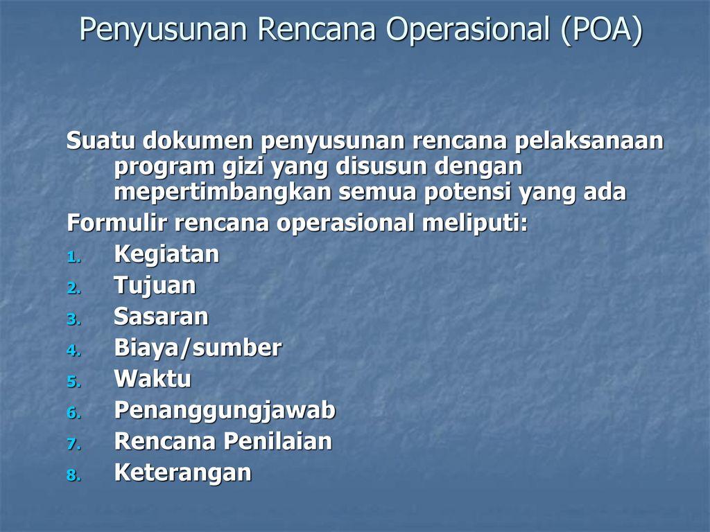 Perencanaan Program Gizi Ppt Download