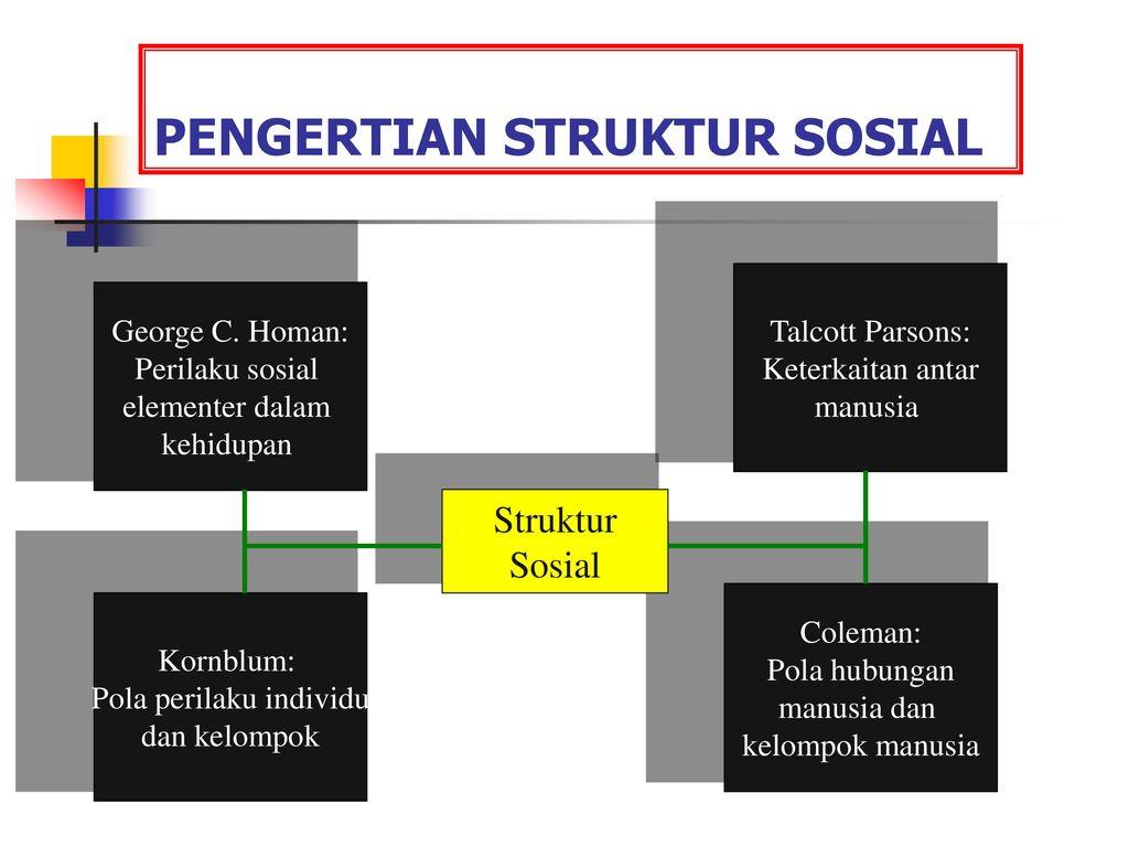 Struktur Sosial Dan Diferensiasi Sosial Ppt Download