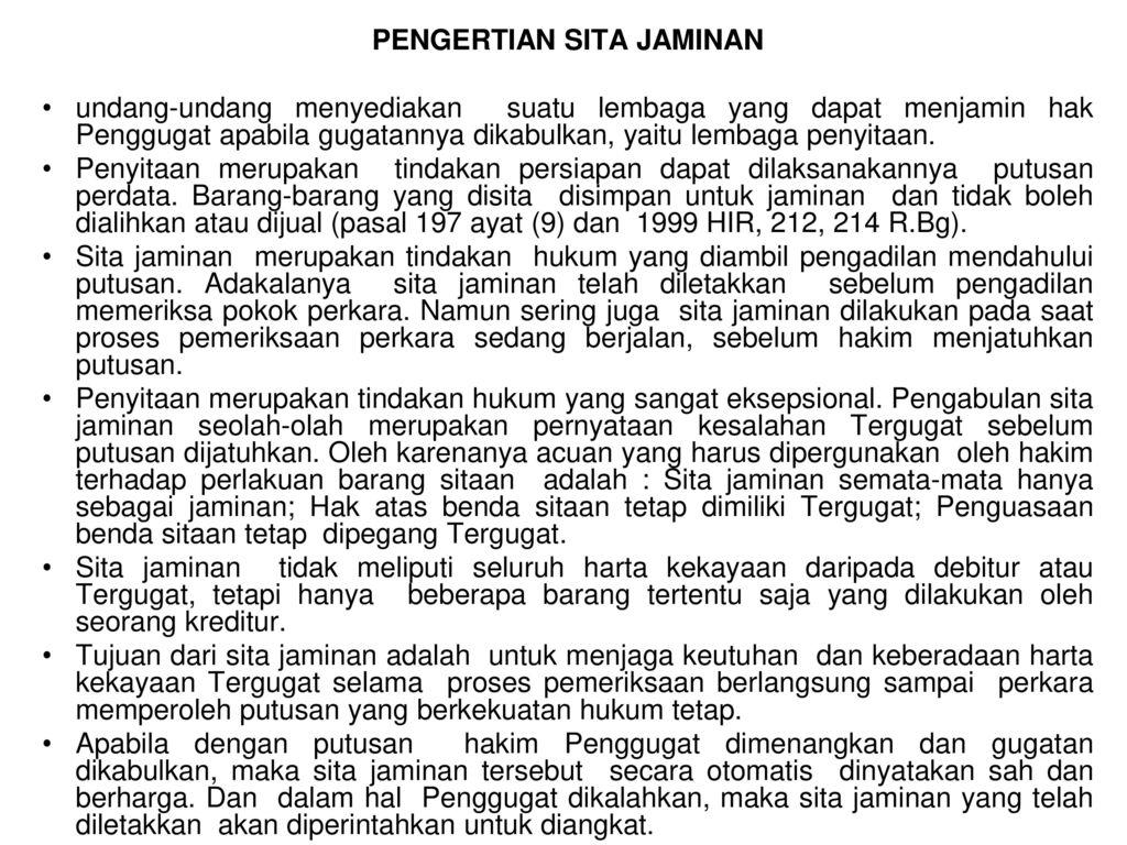 Sita Jaminan Ppt Download