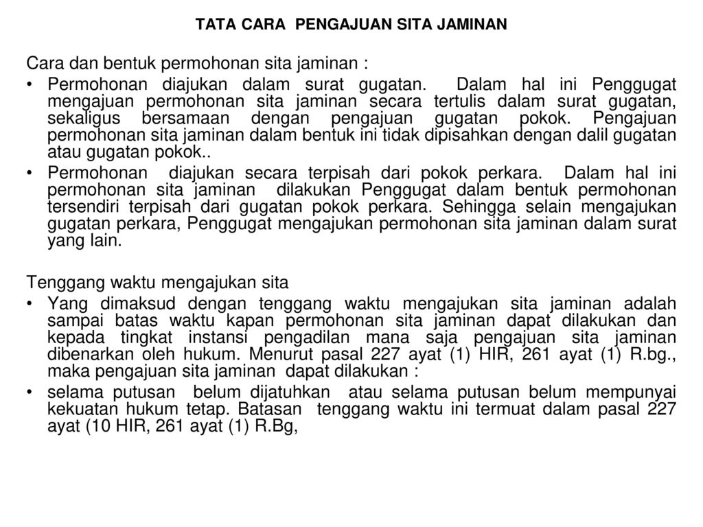 Sita Jaminan Ppt Download