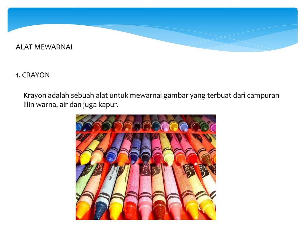 Teknik Mewarnai Ppt Download