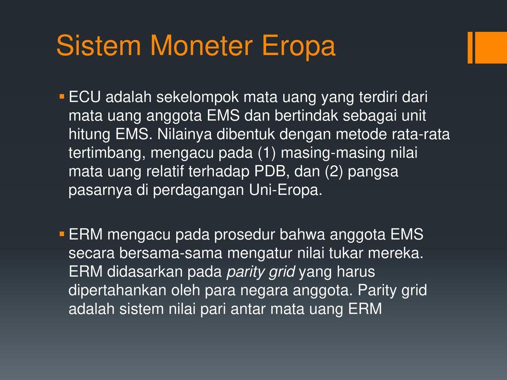sistem perdagangan ems