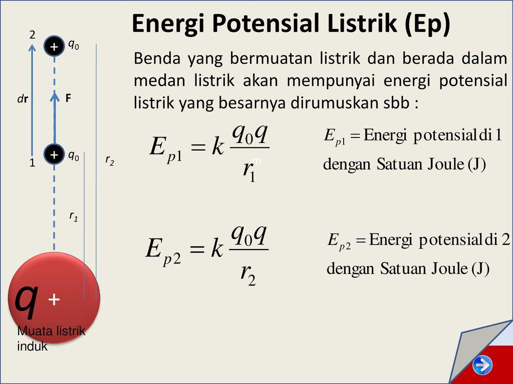 Soal Dan Pembahasan Energi Potensial Listrik Ilmusosial Id