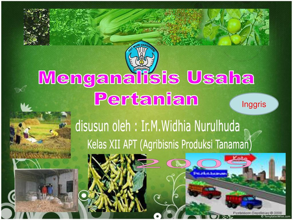 Menganalisis Usaha Pertanian Disusun Oleh Irmwidhia Nurulhuda
