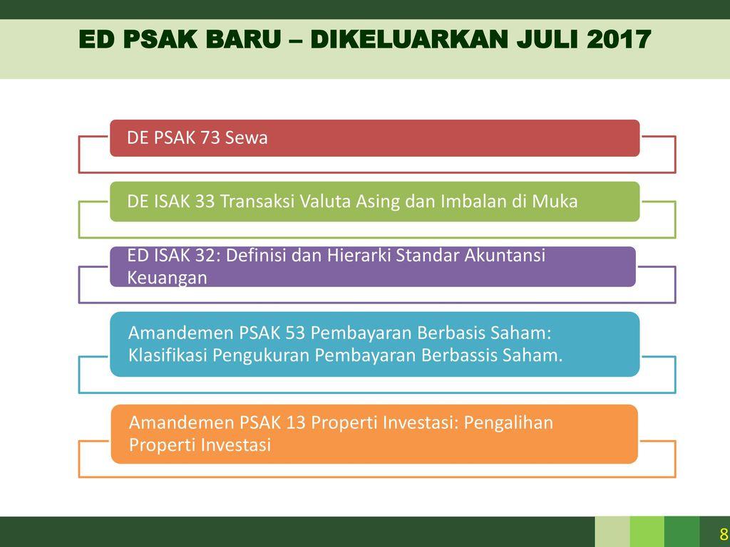 Perkembangan Standar Akuntansi Berbasis Ifrs Per Juli Ppt Download