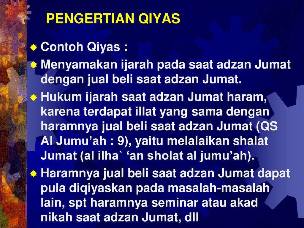 Al Qur An As Sunnah Ijma Qiyas Ppt Download