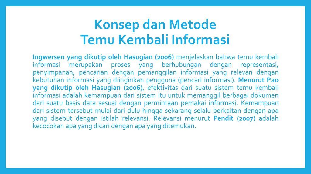 Konsep+dan+Metode+Temu+Kembali+Informasi