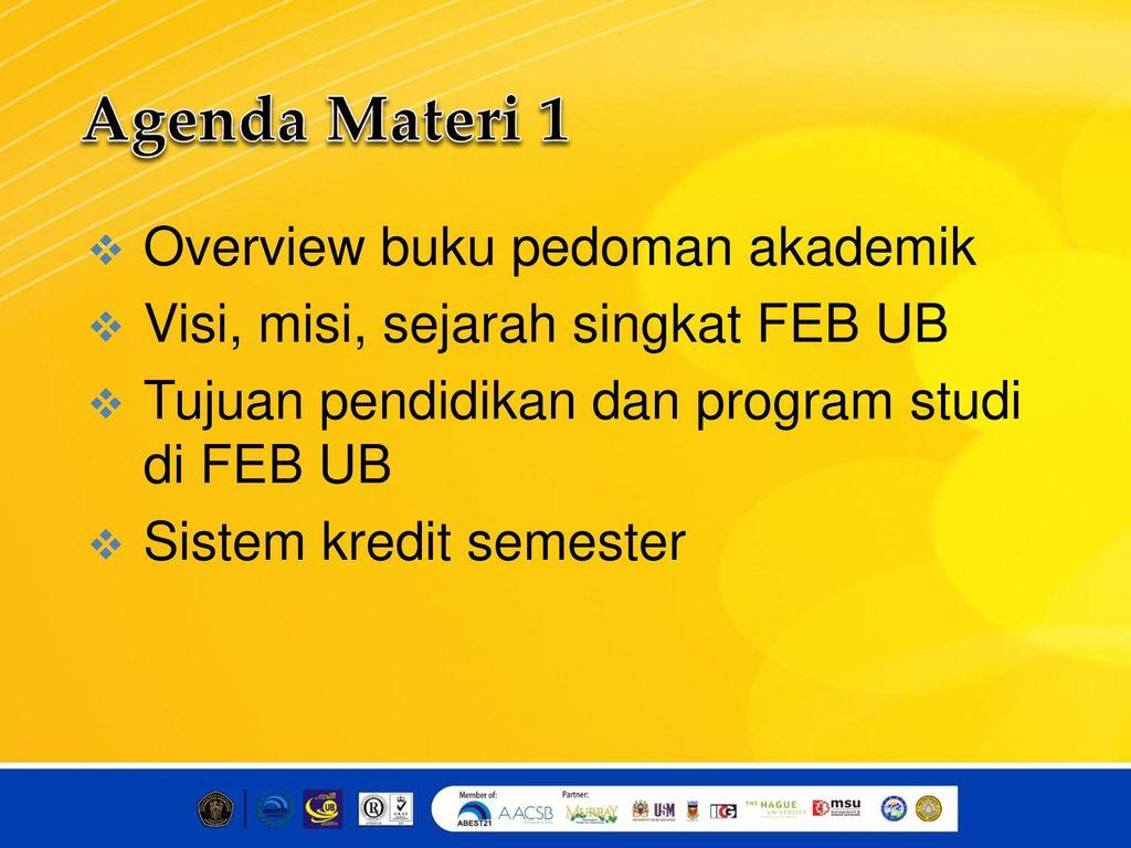 Materi 1 Pk2maba 2016 Fakultas Ekonomi Dan Bisnis Ppt Download