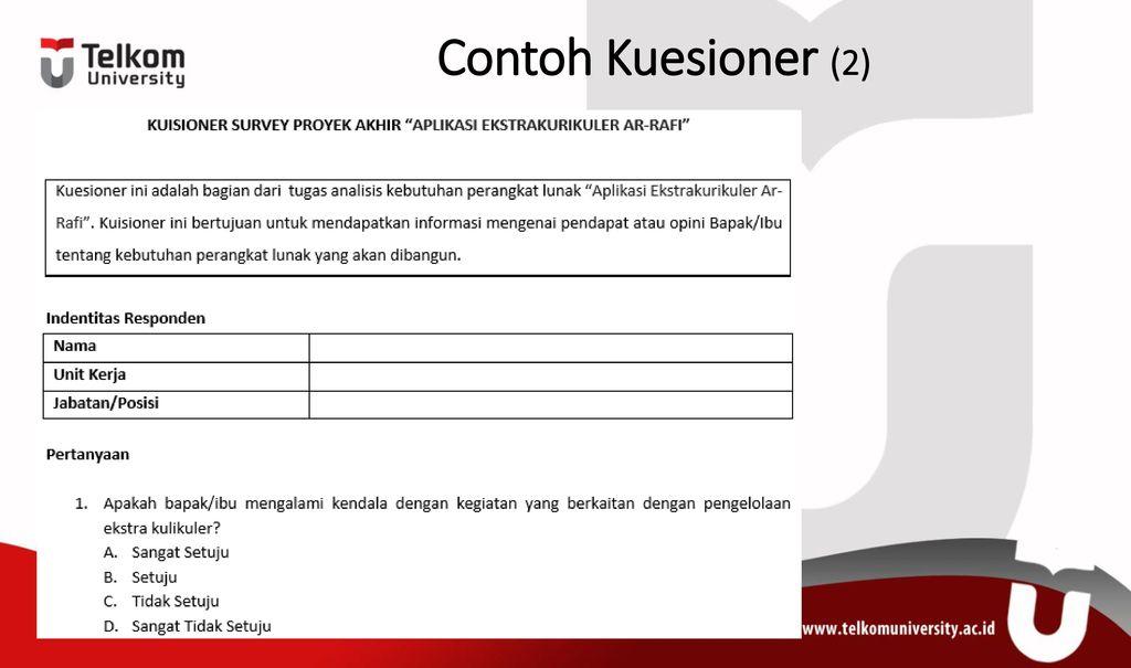 Metode Penelitian Kuesioner Ppt Download
