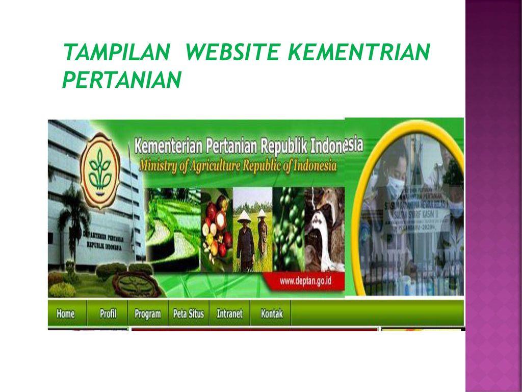 Analisis Egoverment Departemen Pertanian Ppt Download