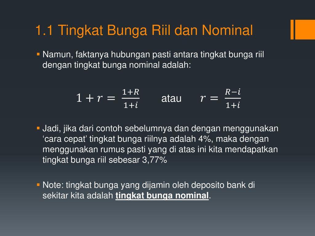 Pengenalan Tentang Risiko Dan Imbal Hasil Ppt Download