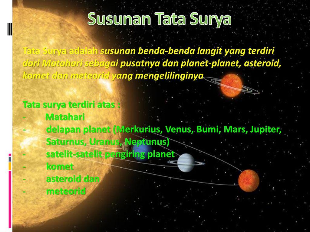 Sistem Tata Surya Maulana Pandudinata 9f Ppt Download