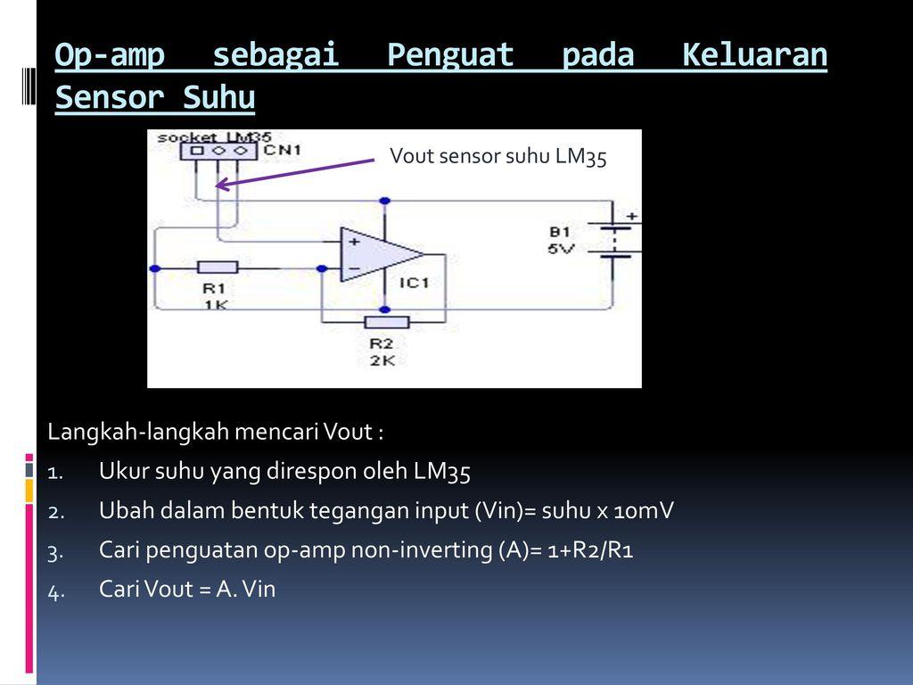 Sensor Infrared Oleh Sri Supatmi Ppt Download Suhu Lm35 Op Amp Sebagai Penguat Pada Keluaran