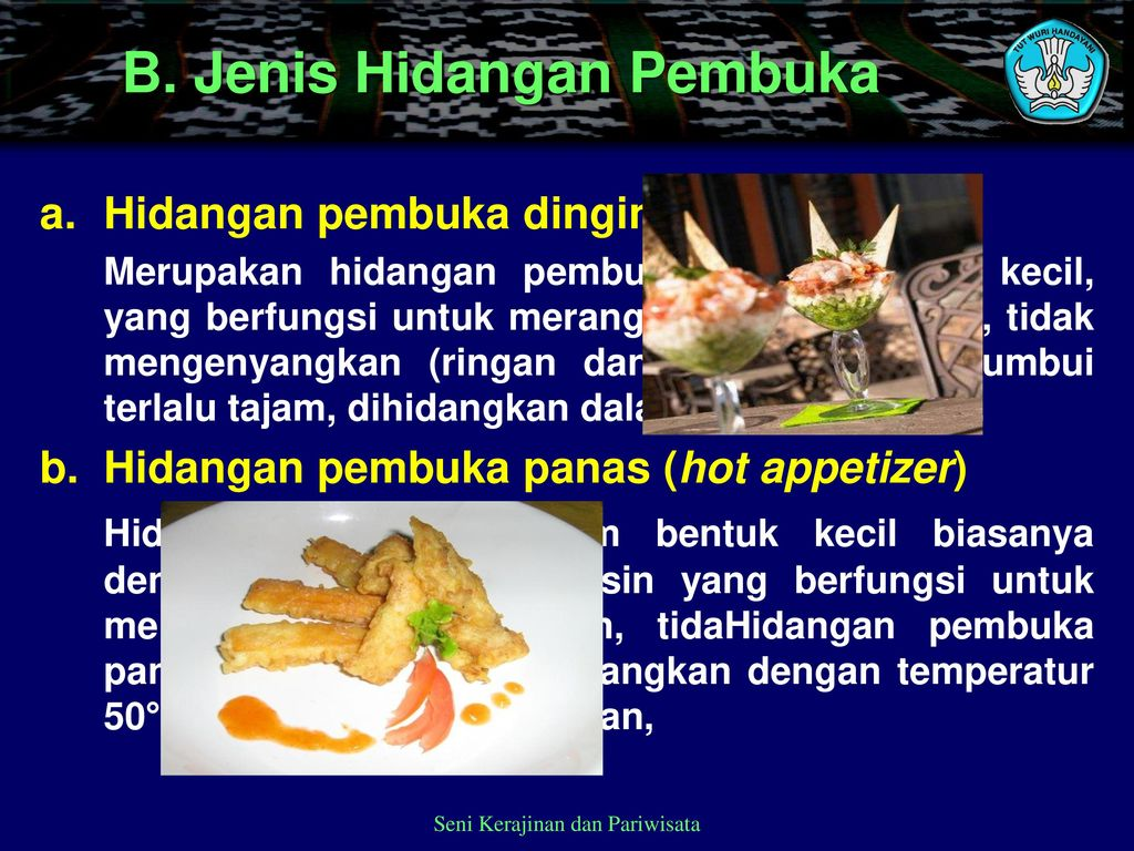 Mengolah Cold And Hot Appetizer Ppt Download