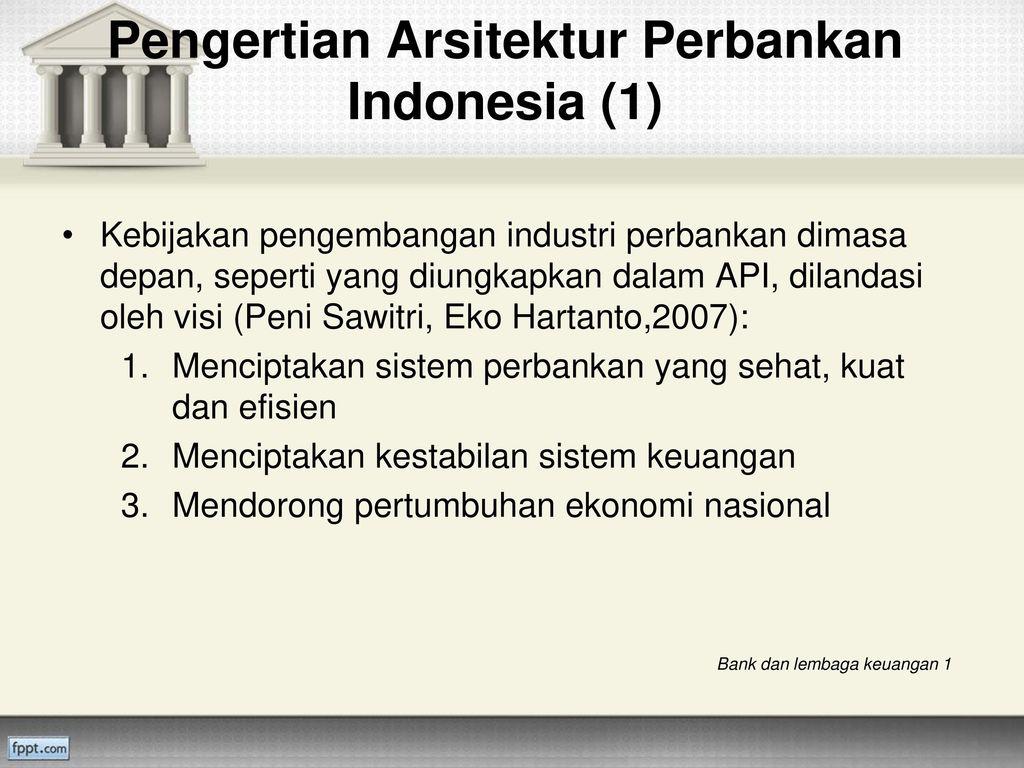 Arsitektur Perbankan Indonesia Api Ppt Download