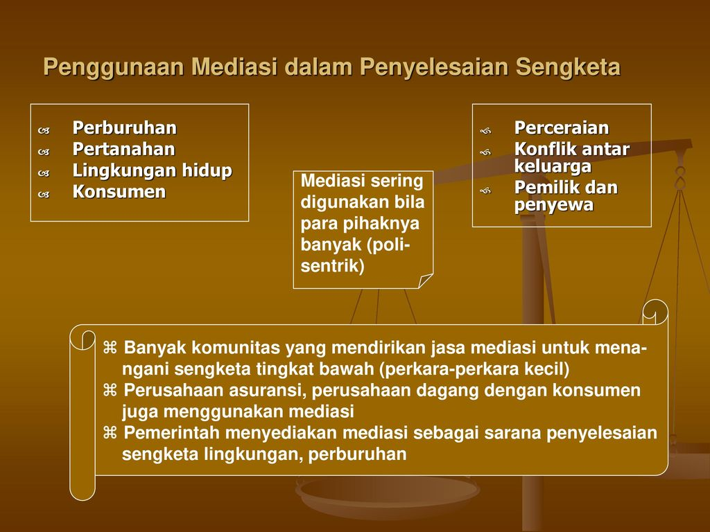 Mediasi Ppt Download