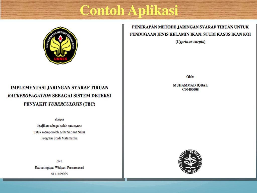 Jst Jaringan Syaraf Tiruan Ppt Download
