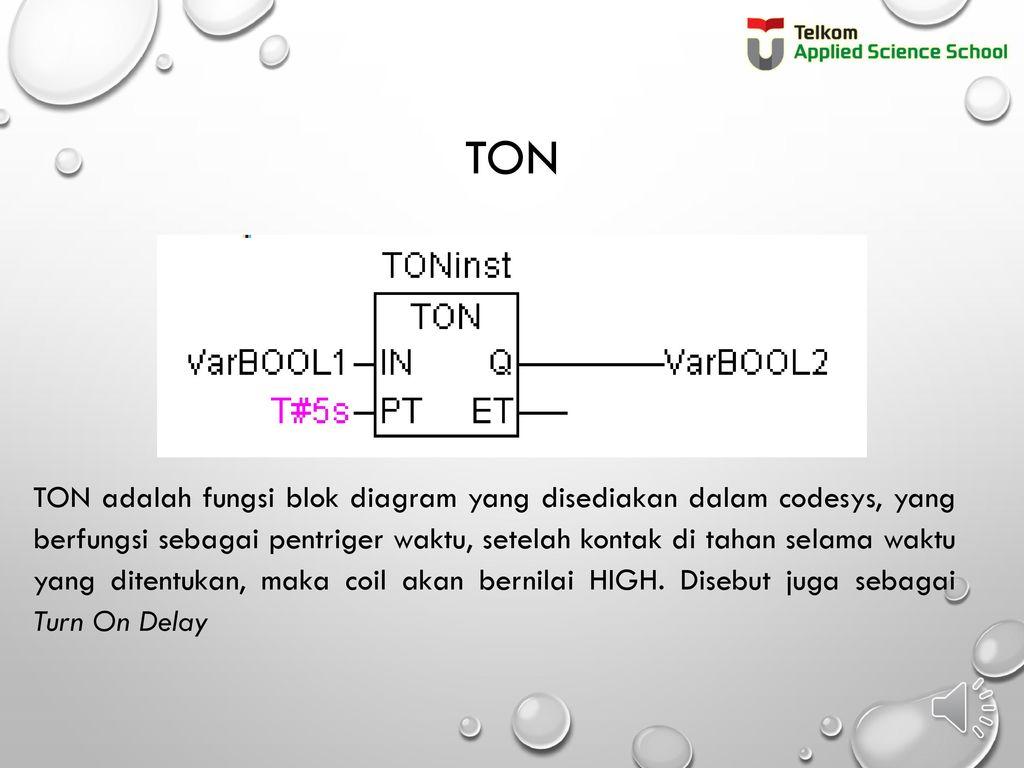 Sistem plc tk3434 programmable logic controler ppt download 3 ton ton adalah fungsi blok diagram ccuart Gallery