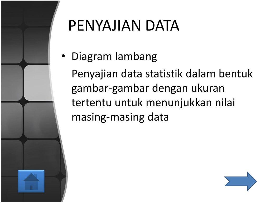 Distribusi frekuensi dan penyajian data ppt download penyajian data diagram lambang ccuart Image collections