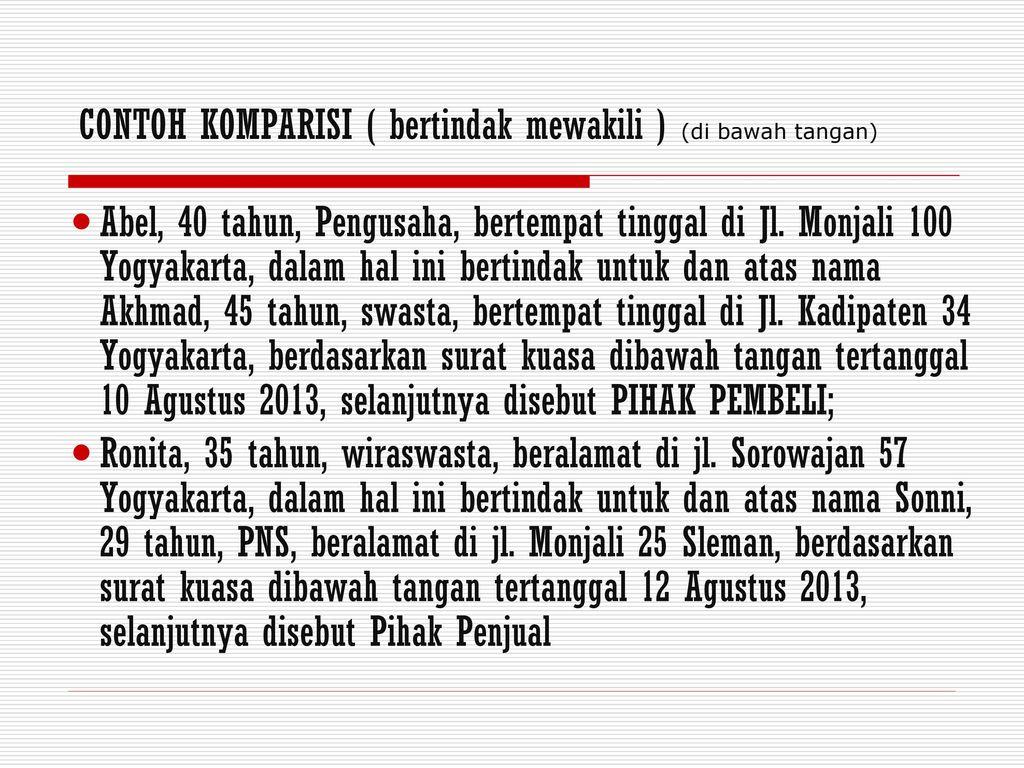 Penyusunan Kontrak Ppt Download