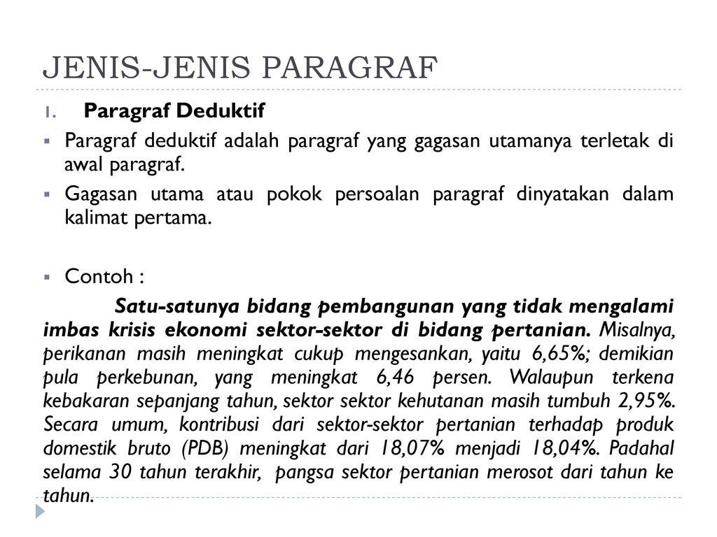 Paragraf Ppt Download