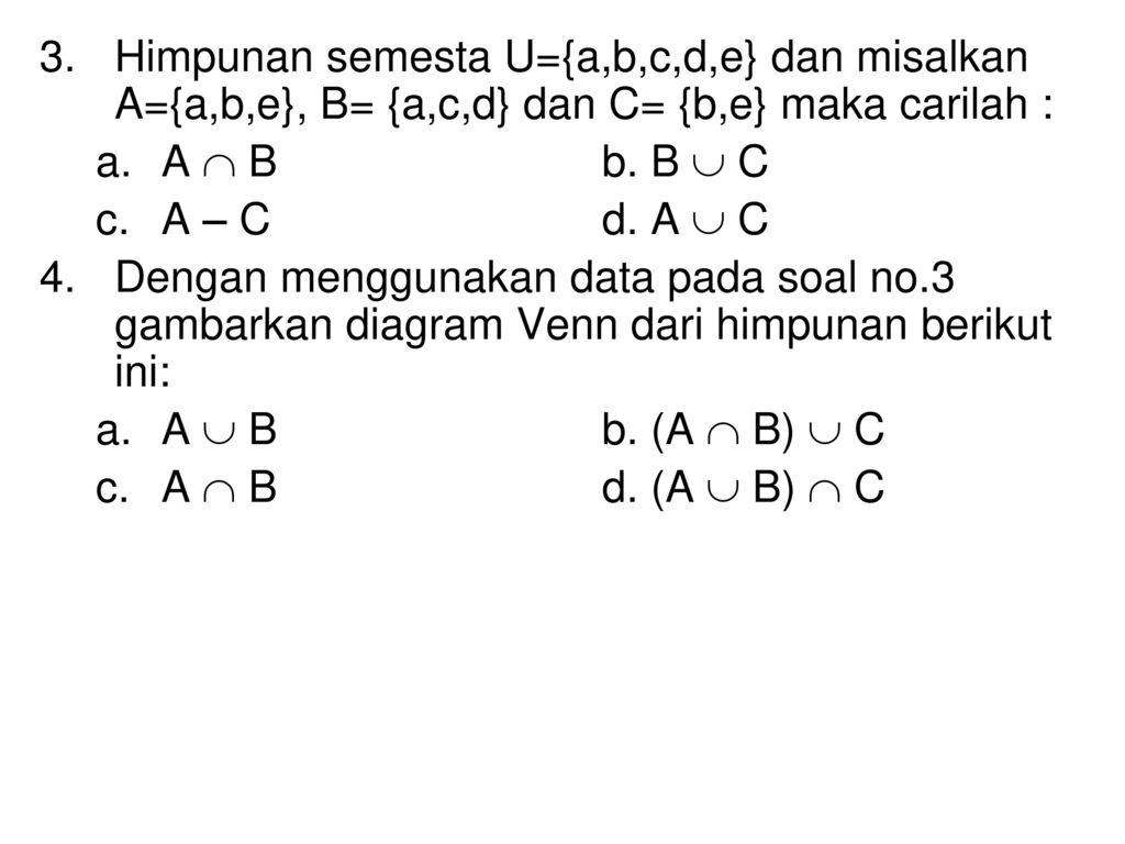 Materi ke 1 matematika ekonomi i ppt download 14 himpunan ccuart Images