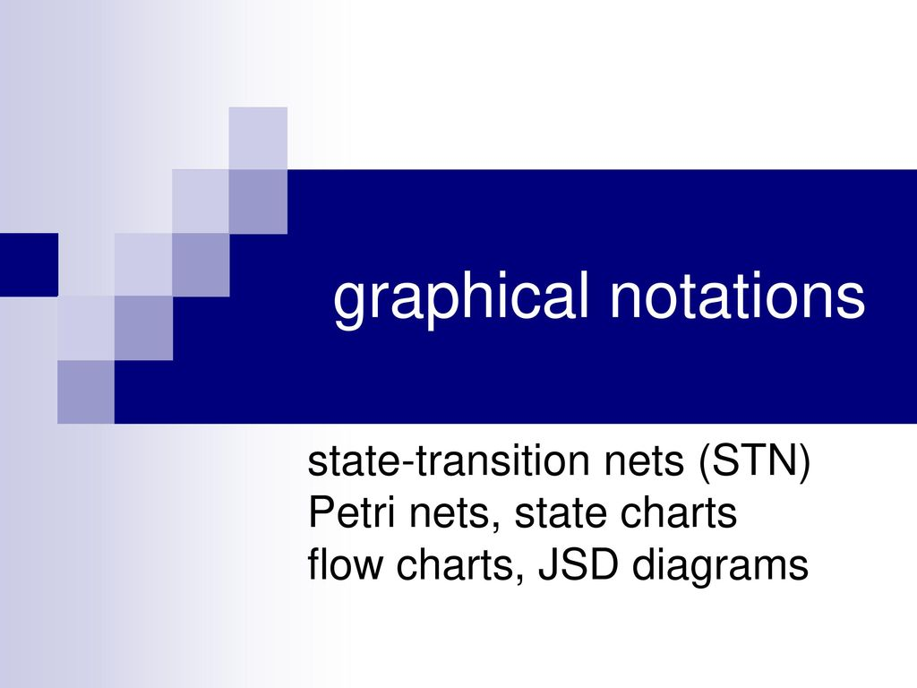 Desain dan notasi dialog ppt download 8 graphical notations state transition nets stn petri nets state charts flow charts jsd diagrams ccuart Images