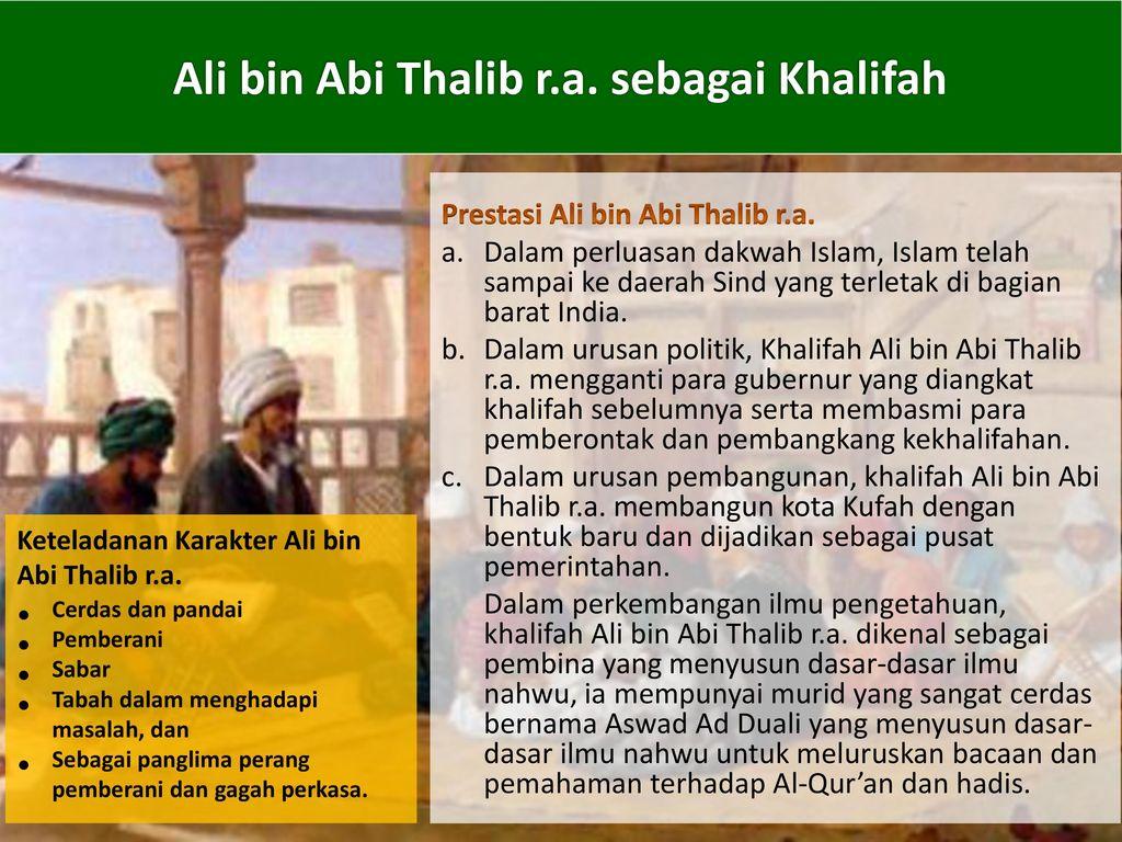 BAB XIII Khulafaurrasyidin  - ppt download