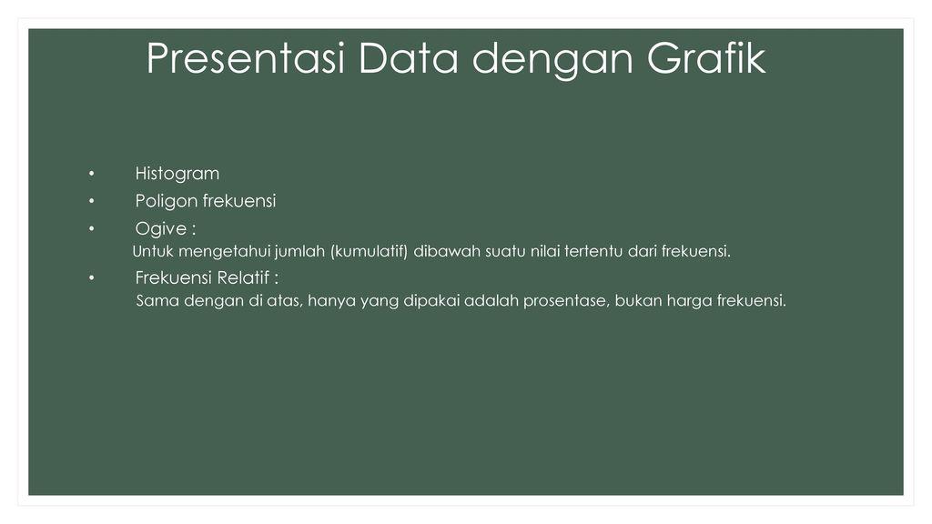 Perhitungan jumlah dan presentasi data ppt download presentasi data dengan grafik ccuart Images