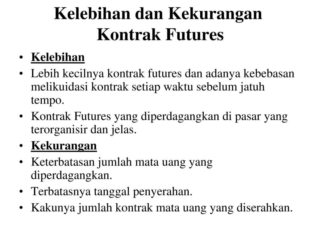 cara memperdagangkan futures dan opsi