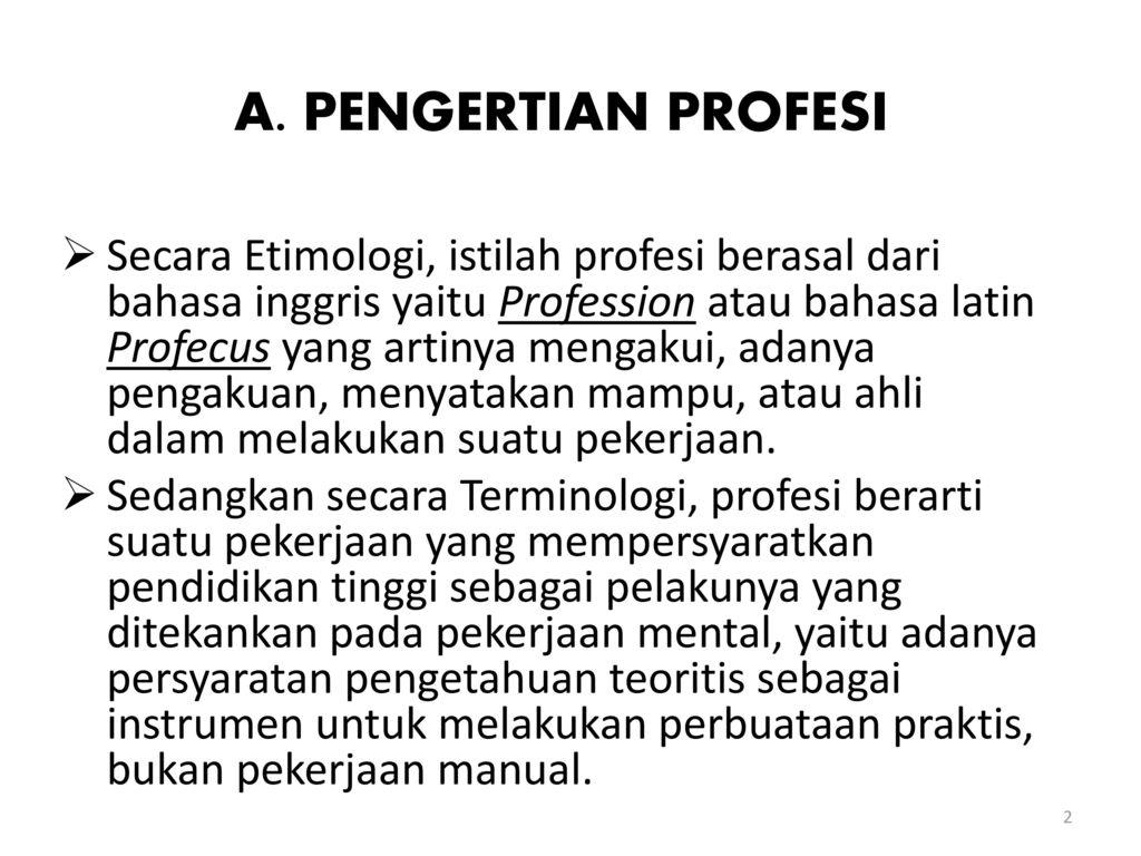 Konsep Dasar Profesi Pendidikan Ppt Download