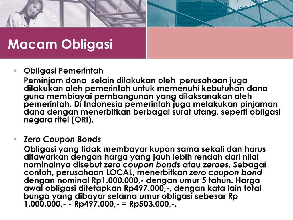 Bab 8 Suku Bunga Dan Penilaian Obligasi Ppt Download