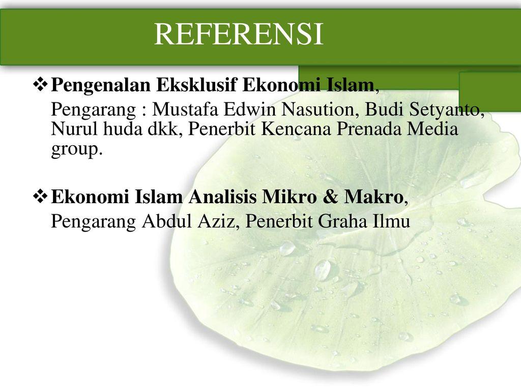 Ekonomi Islam Analisis Mikro Makro Abdul Aziz Graha Ilmu Daftar Spray Rossy Pengarang Penerbit Referensi