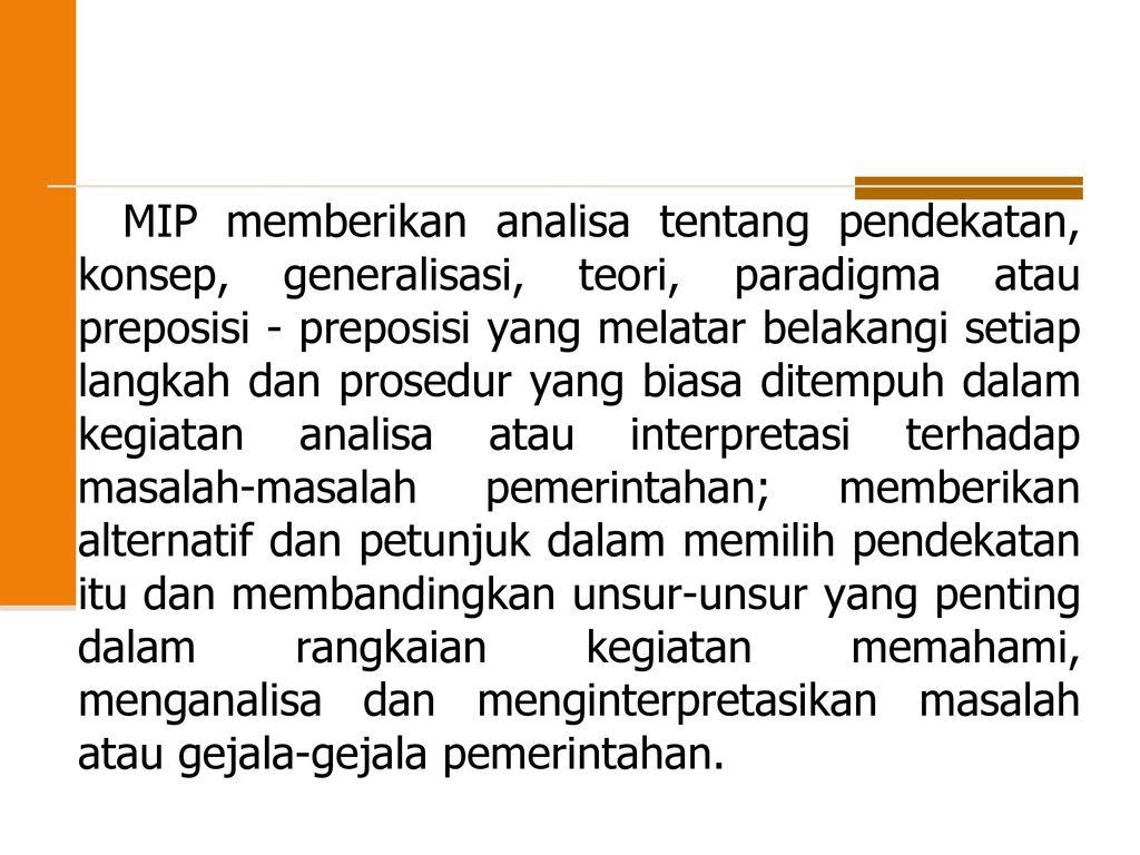 M I P Metodologi Ilmu Pemerintahan Dewi Kurniasih Ppt Download