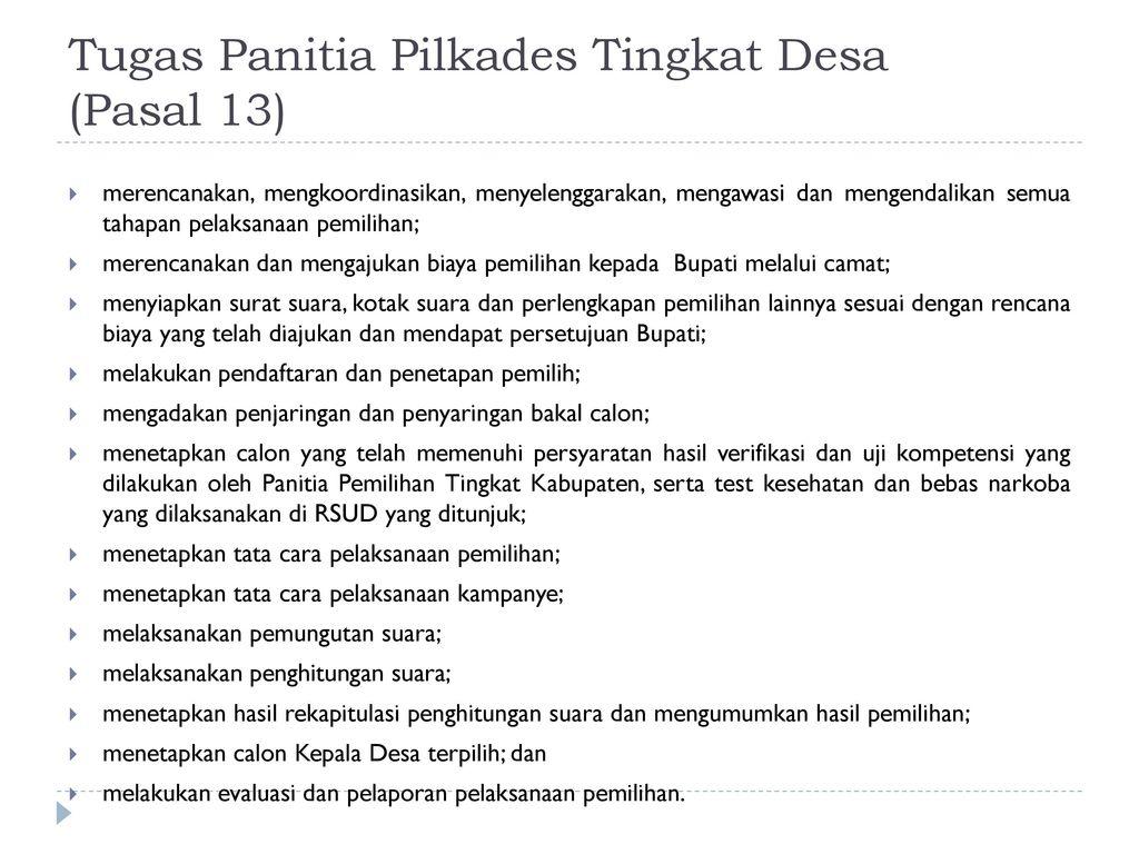 Contoh Surat Mandat Saksi Pilkades Suratmenyuratnet