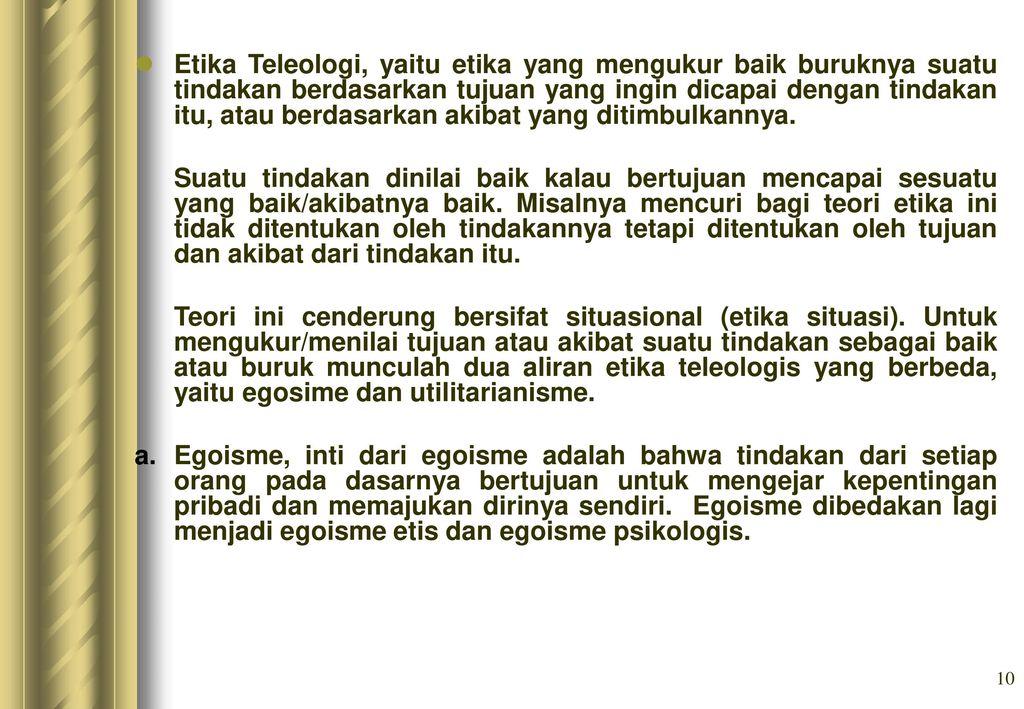 Etika Profesi Oleh D Hedin Purnama B Ppt Download