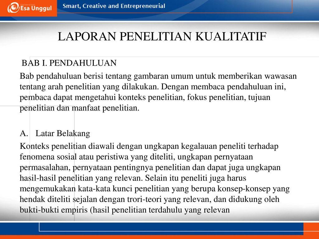 Laporan Dalam Penelitian Kuantitatif Dr Ratnawati Susanto M M M Pd Ppt Download