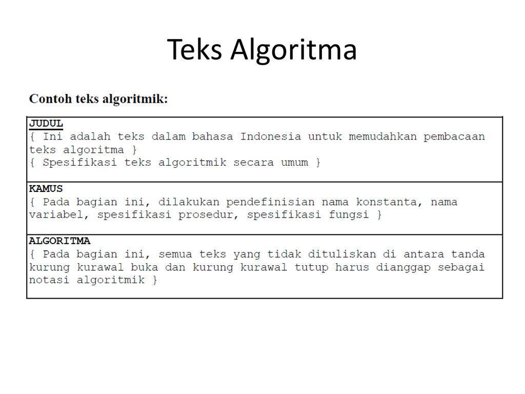 Dasar Pemrograman Daspro Teknik Informatika S 1 Udinus Ppt Download