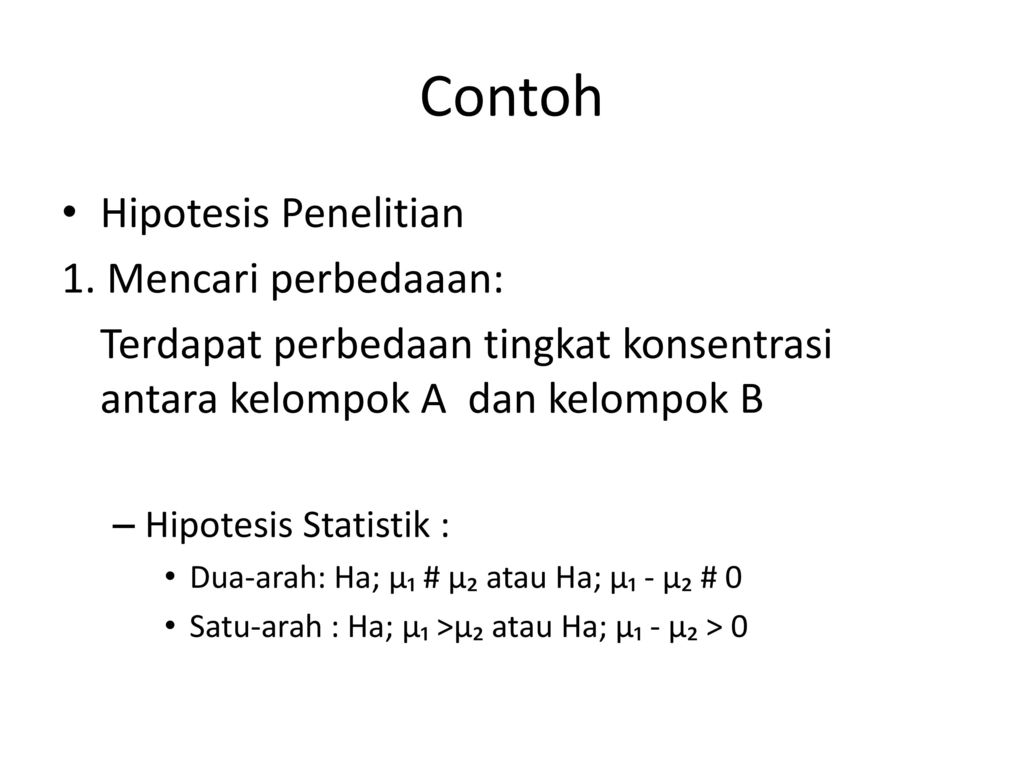 Hipotesis Penelitian Ppt Download