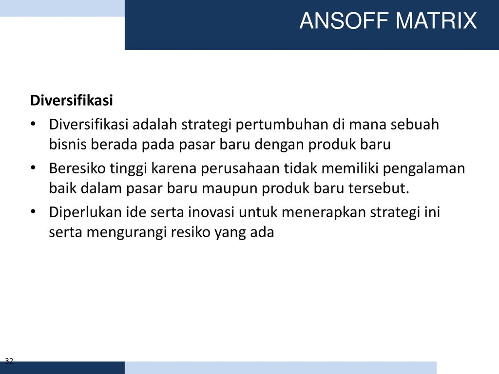 (DOC) Ansoff Growth Matrix | Sandi San - cryptonews.id