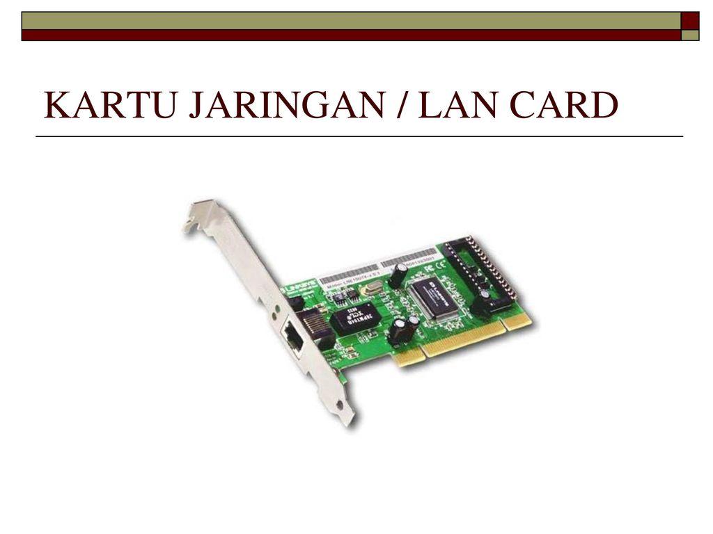 Perangkat Jarkom Jaringan Komputer Ppt Download