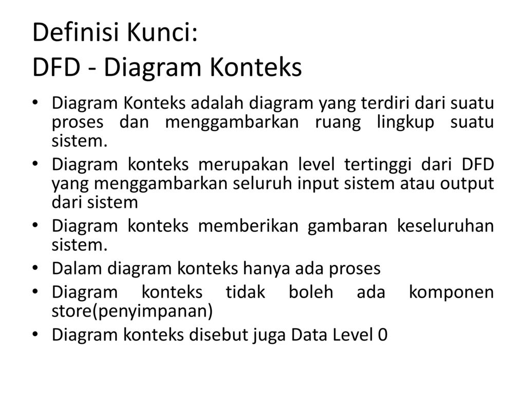 Data flow diagram book ppt download 6 definisi kunci dfd diagram konteks ccuart