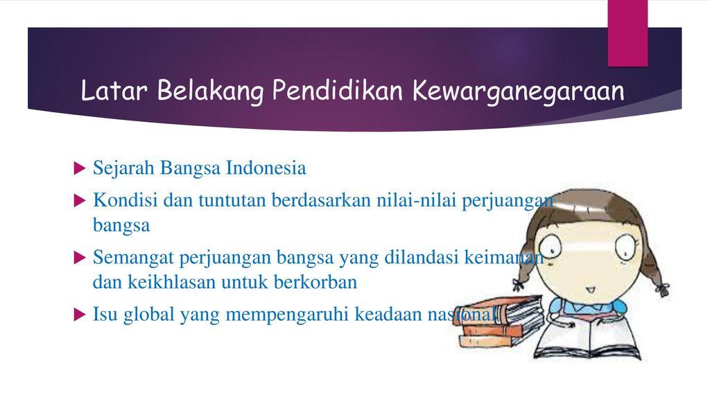 Pengertian Pendidikan Kewarganegaraan Ppt Download