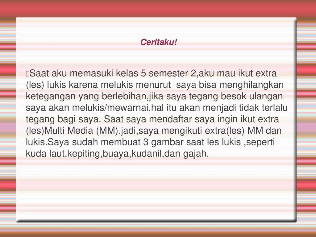 Seni Lukis Created By Salma E M Kelas 5b Ppt Download